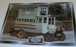 Berliet Pigeon Transporter 1914 Colour framed picture